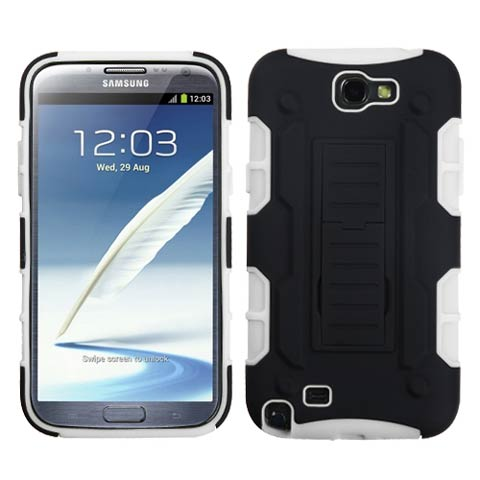 White Hybrid Racer for Samsung Galaxy Note II