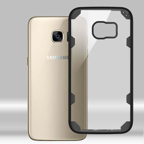 Black Fusion Freestyle Cover for Samsung Galaxy S7