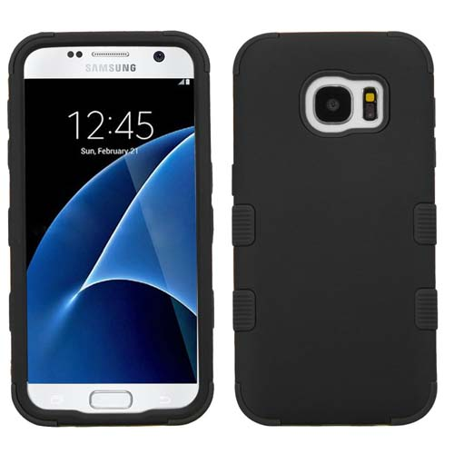 Black Synergy Hybrid Case for Samsung Galaxy S7
