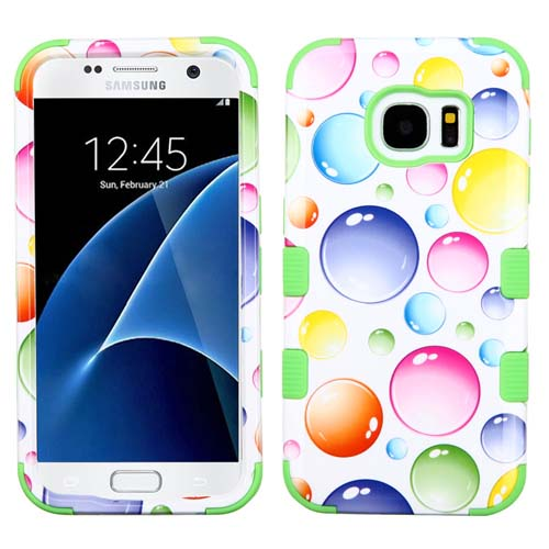 Bubbles Synergy Hybrid Case for Samsung Galaxy S7