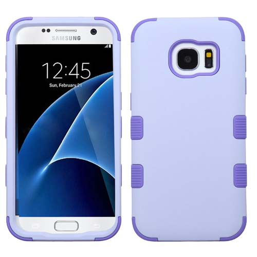 Purple Synergy Hybrid Case for Samsung Galaxy S7
