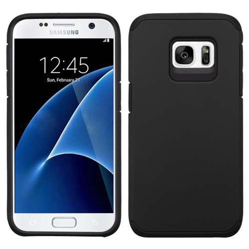 Black Hybrid TPU Unity Case for Samsung Galaxy S7