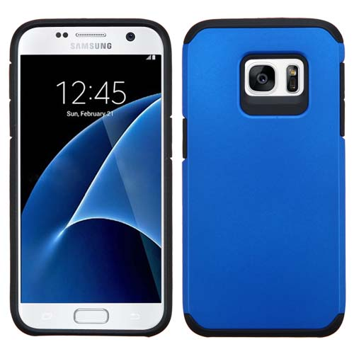 Blue Hybrid TPU Unity Case for Samsung Galaxy S7
