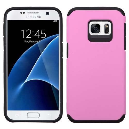 Pink Hybrid TPU Unity Case for Samsung Galaxy S7