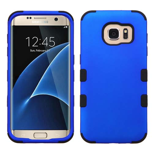 Blue Synergy Hybrid Case for Samsung Galaxy S7 Edge