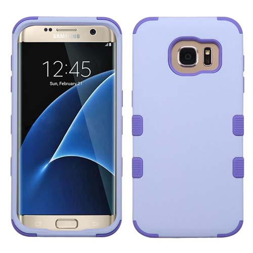 Purple Synergy Hybrid Case for Samsung Galaxy S7 Edge