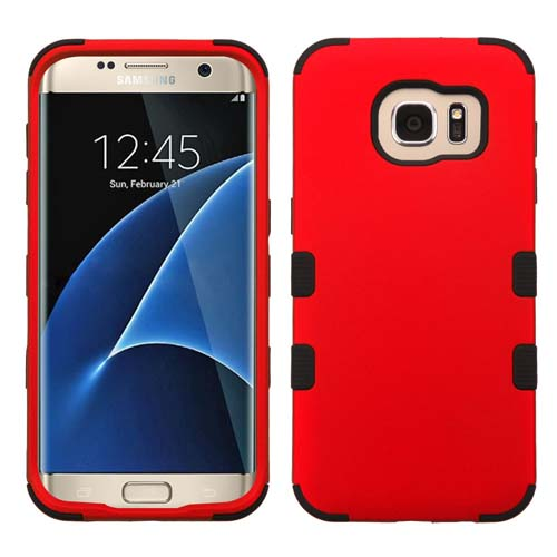 Red Synergy Hybrid Case for Samsung Galaxy S7 Edge