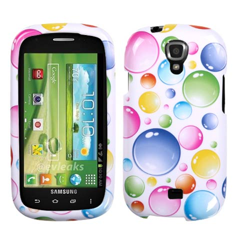 Bubbles Hard Case for Samsung Stratosphere 2