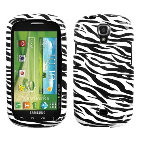 Zebra Hard Case for Samsung Stratosphere 2