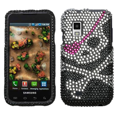 Pirate Crystal Rhinestones Bling Case for Samsung Mesmerize