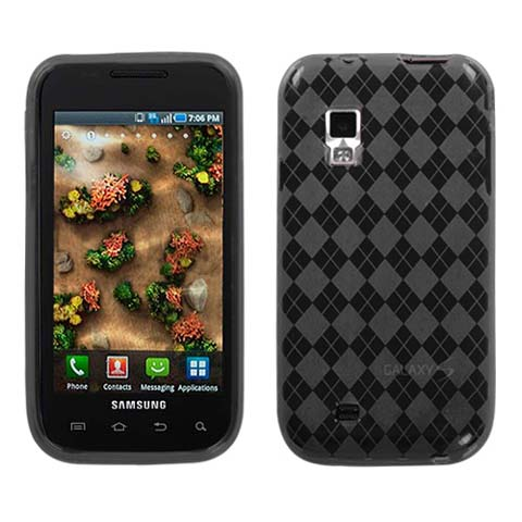 Smoke Argyle TPU Case for Samsung Mesmerize