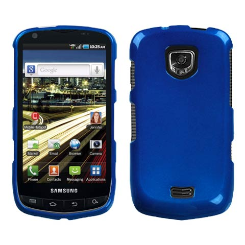 Blue Hard Case for Samsung Droid Charge