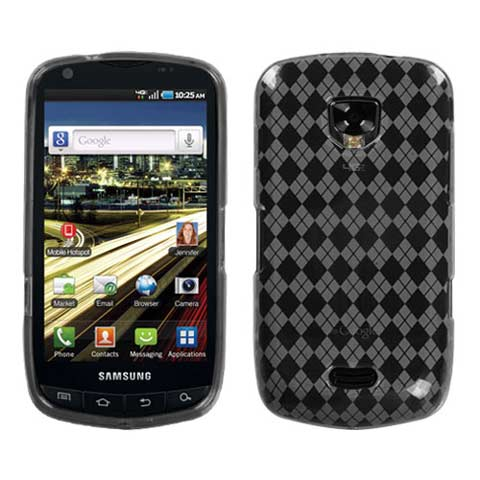 Frost Argyle TPU Case for Samsung Droid Charge