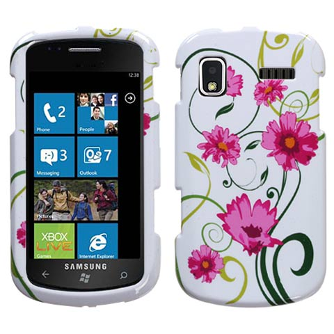 Daisy Flowers Hard Case for Samsung Focus