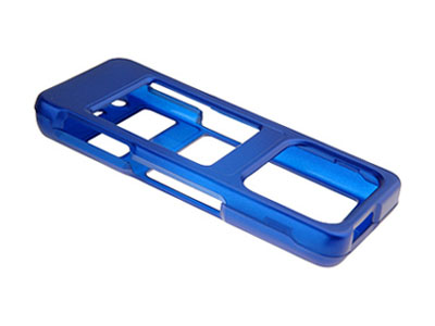 Samsung UpStage SPH-M620  Rubberized Faceplate Case (Blue)