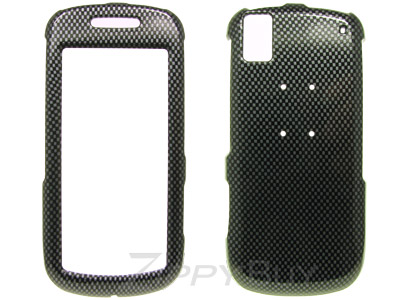 Samsung Instinct s30 SPH-M810 Hard Cover Case - Carbon Fiber