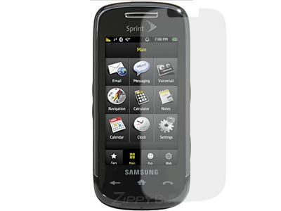 Samsung Instinct s30 SPH-M810 Anti-Glare Screen Protector