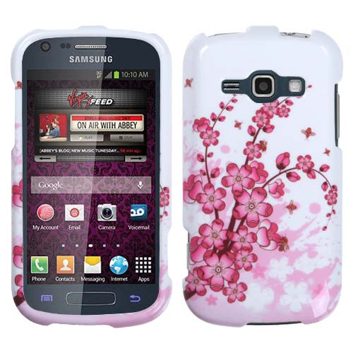 Pink Flowers Hard Case for Samsung Galaxy Prevail 2