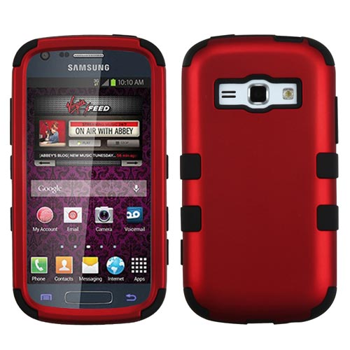 Red Synergy Case for Samsung Galaxy Prevail 2