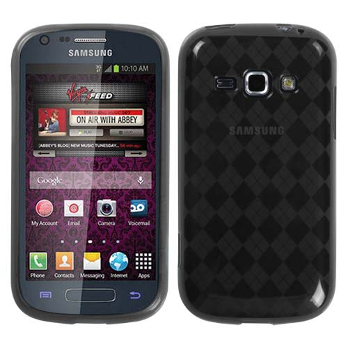 Smoke Grey Argyle TPU Cover for Samsung Galaxy Ring
