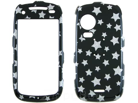 Samsung Instinct HD Hard Cover Case - Sparkle Stars