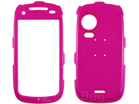 Samsung Instinct HD m850 Hard Cover Case - Hot Pink
