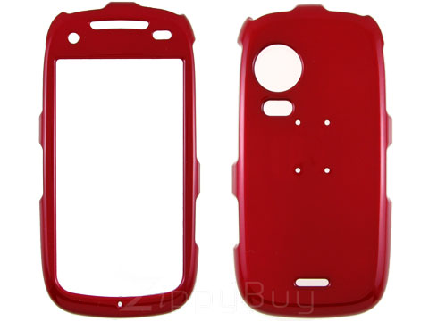 Samsung Instinct HD Hard Cover Case - Red