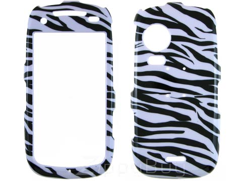 Samsung Instinct HD Hard Cover Case - Zebra