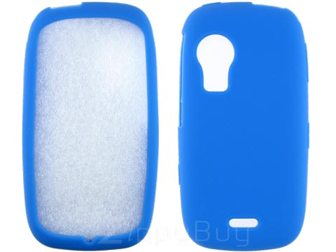 Samsung Instinct HD Silicone Skin Cover - Baby Blue