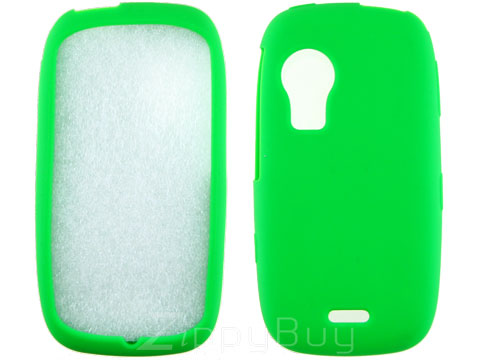 Samsung Instinct HD Silicone Skin Cover - Green
