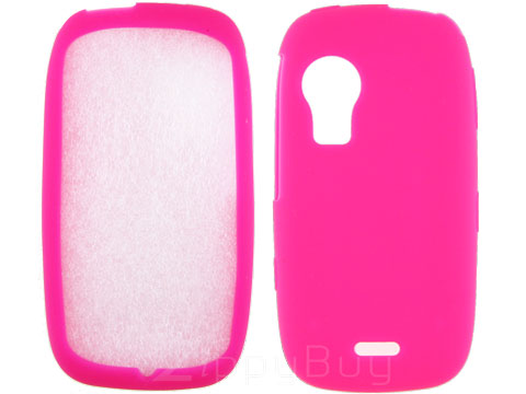 Samsung Instinct HD Silicone Skin Cover - Hot Pink