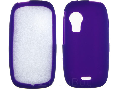 Samsung Instinct HD Silicone Skin Cover - Purple