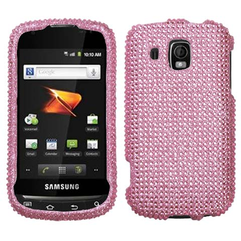 Pink Crystal Rhinestones Bling Case for Samsung Transform Ultra
