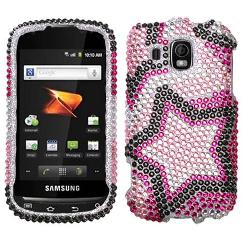 Superstar Crystal Rhinestones Bling Case for Samsung Transform Ultra
