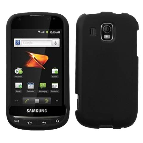 Black Rubberized Hard Case for Samsung Transform Ultra