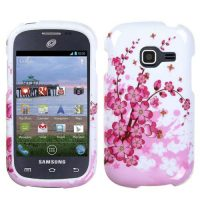 Pink Flowers Hard Case for Samsung Galaxy Centura