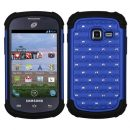 Blue Dazzler Defense Dual Layer Hybrid Case for Samsung Galaxy Discover