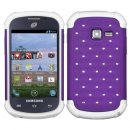 Purple Dazzler Defense Dual Layer Hybrid Case for Samsung Galaxy Discover
