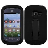 Black Symbiosis Dual Layer Hybrid Case for Samsung Galaxy Centura