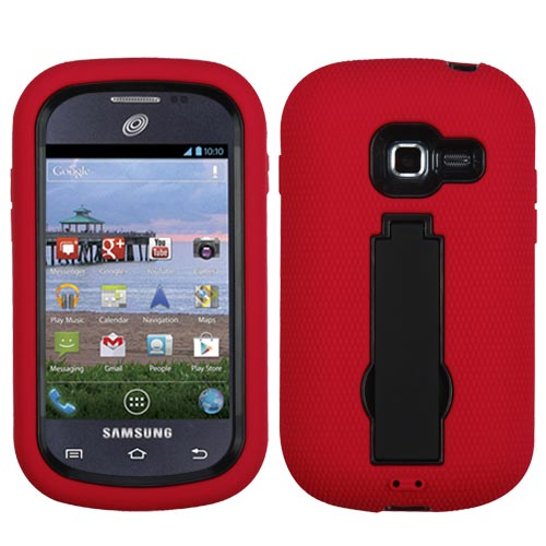 Red Symbiosis Dual Layer Hybrid Case for Samsung Galaxy Discover