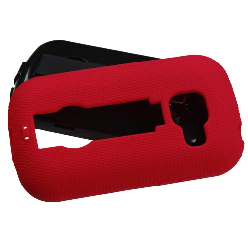 Red Symbiosis Dual Layer Hybrid Case for Samsung Galaxy Centura