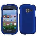 Blue Rubberized Hard Case for Samsung Galaxy Discover