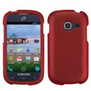 Red Rubberized Hard Case for Samsung Galaxy Discover