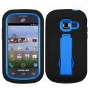Black on Blue Symbiosis Dual Layer Hybrid Case for Samsung Galaxy Discover