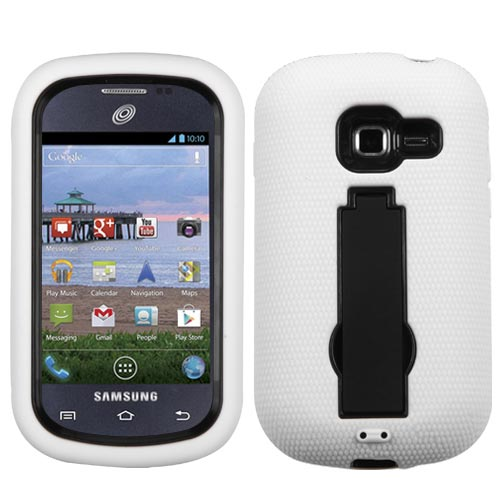 White Symbiosis Dual Layer Hybrid Case for Samsung Galaxy Discover