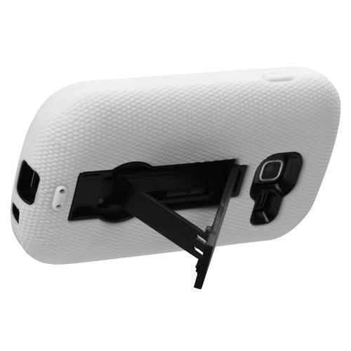 White Symbiosis Dual Layer Hybrid Case for Samsung Galaxy Centura