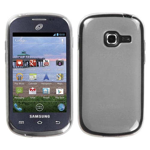 galaxy centura clear frost tpu cover for samsung galaxy centura