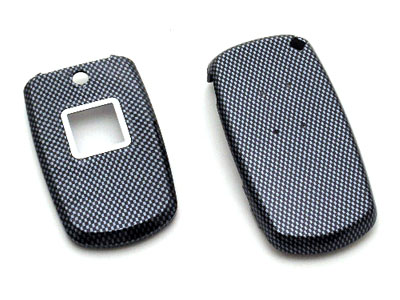 Samsung SPH-M300 Snap-On Faceplate Case Carbon Fiber