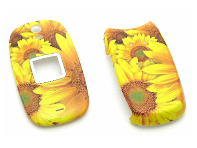 Samsung SPH-M510 Snap-On Faceplate Case Sunflowers