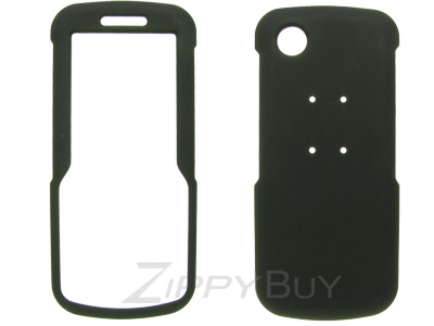 Samsung SGH-T349 Rubberized Hard Cover Case - Black